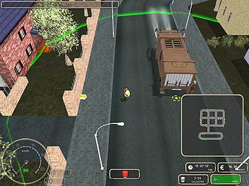 big city rigs garbage truck driver game free download