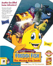 Download freddi fish 1 the case of the missing kelp for Freddi fish online