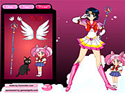 Sailormoon Dress Up